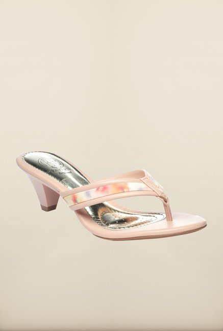 Pavers England Peach Thong Sandals
