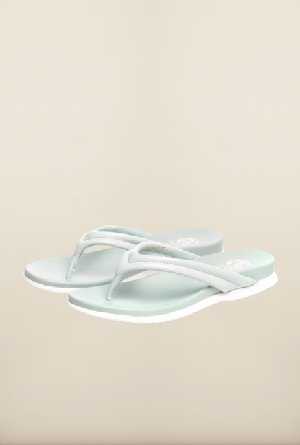 Pavers England Light Blue Slippers