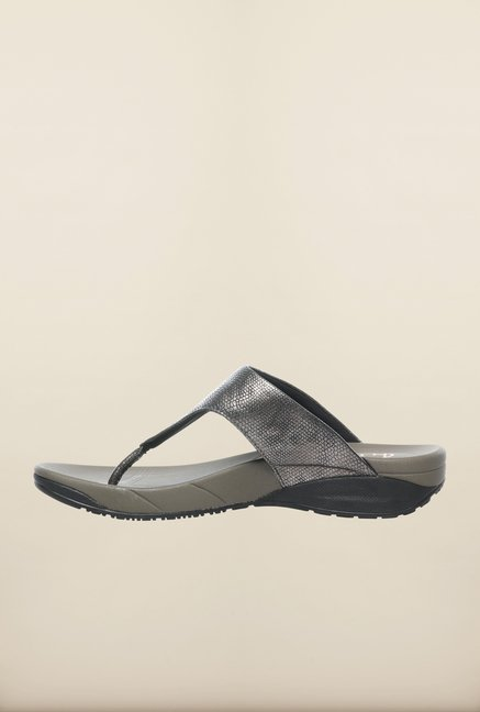 Pavers England Grey Slippers