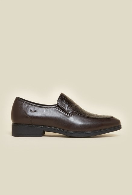 Da Vinchi by Metro Brown Slip-Ons