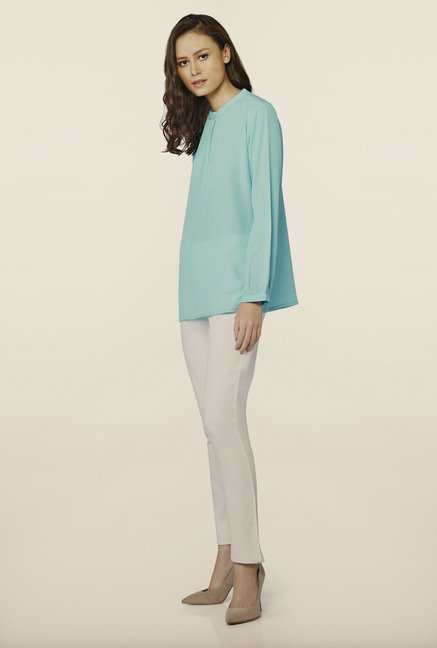 AND Aqua Solid Top
