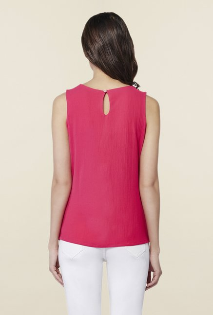 AND Rouge Solid Top