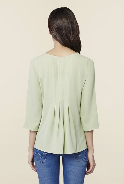 AND Sea Green Solid Top