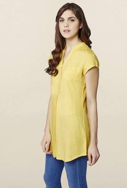 AND Canary Solid Tunic