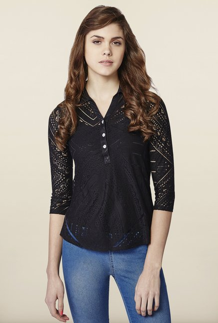 AND Raven Lace Top