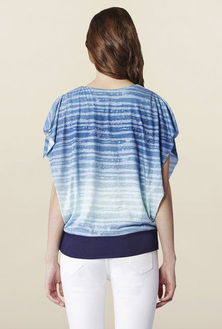 AND Sapphire Striped Regular Fit Top