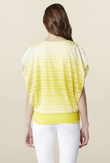 AND Canary Striped Top