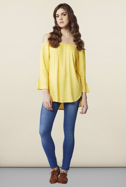 AND Canary Solid Regular Fit Top