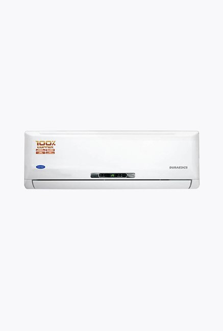 Carrier Duraedge CACS18DE3R5 1.5 Ton 3 Star (BEE Rating 2017) Split AC (White)