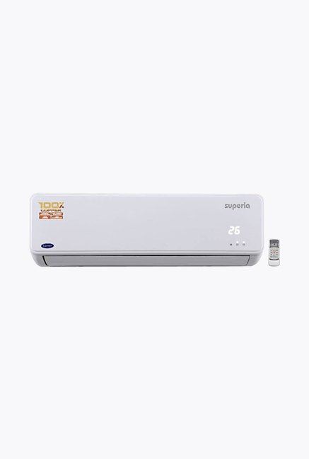 Carrier Superia 18K 5 Star 1.5 Ton Split AC White