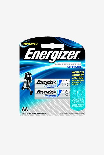 Energizer AA FR6 700mAh NiMH Battery Silver (Pack of 2)