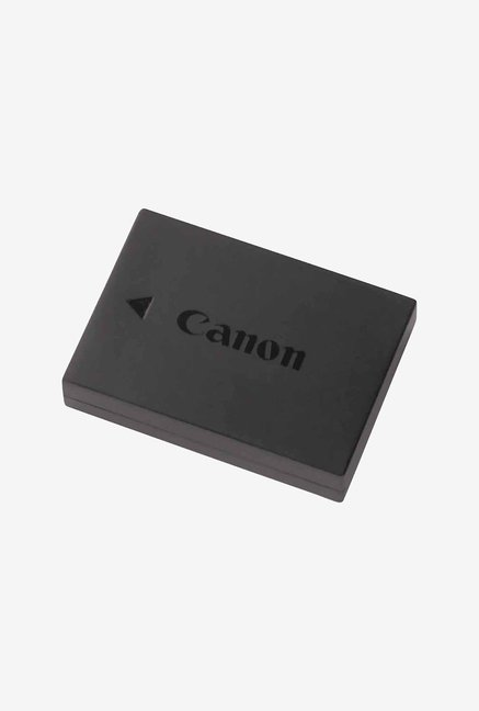 Canon LP E10 Lithium Ion Battery  Black