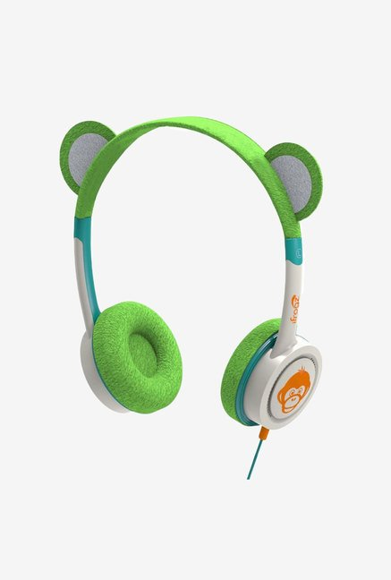 iFrogz Little Rockers Costume Headphones Green Monkey