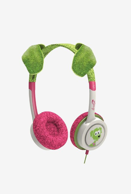 iFrogz Little Rockers Costume Headphones Lime Green Puppy