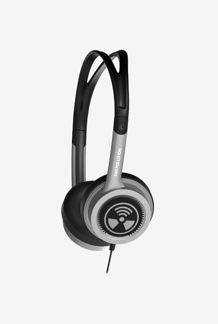 iFrogz Audio Ear Pollution Toxix Headphones Platinum
