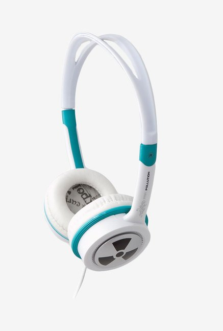 iFrogz Audio Ear Pollution Toxix Headphones Teal