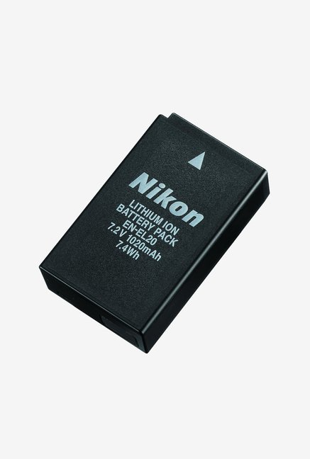 Nikon EN-EL 20 Rechargeable Li-ion Battery Black