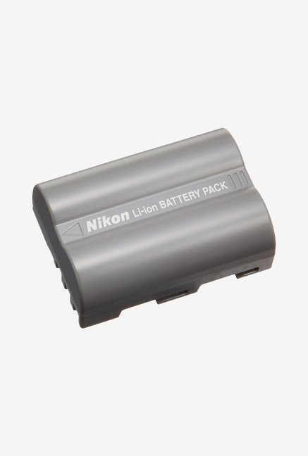 Nikon EN EL 3e Rechargeable Li ion Battery  Grey