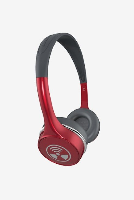 iFrogz Audio Ear Pollution Toxix Plus Headphones Ruby Red