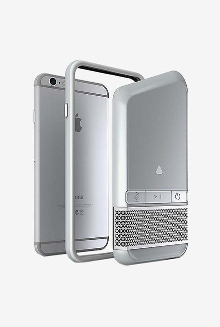 Zagg Speaker Case Silver for Apple iPhone 6