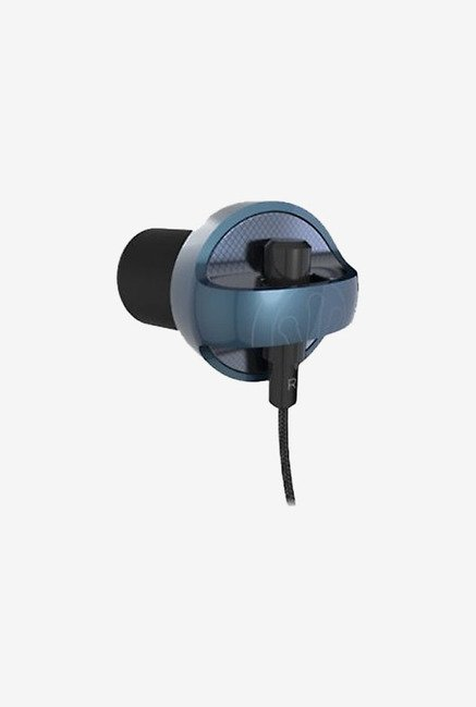 iFrogz Audio Earbuds Carbide with Mic Blue
