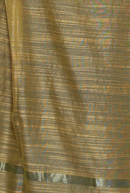 Aurelia Gold Striped Dupatta