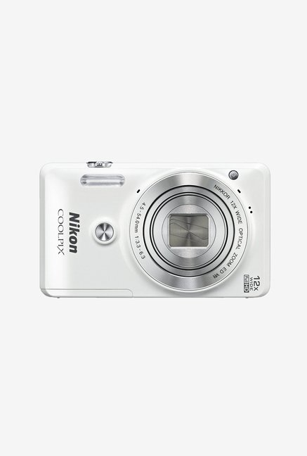 Nikon Coolpix S6900 Point & Shoot Camera White