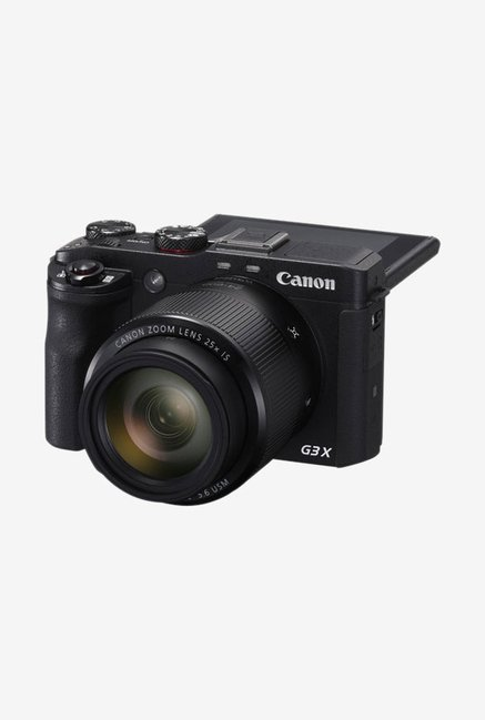 Canon PowerShot G3 X Point and Shoot Camera Black