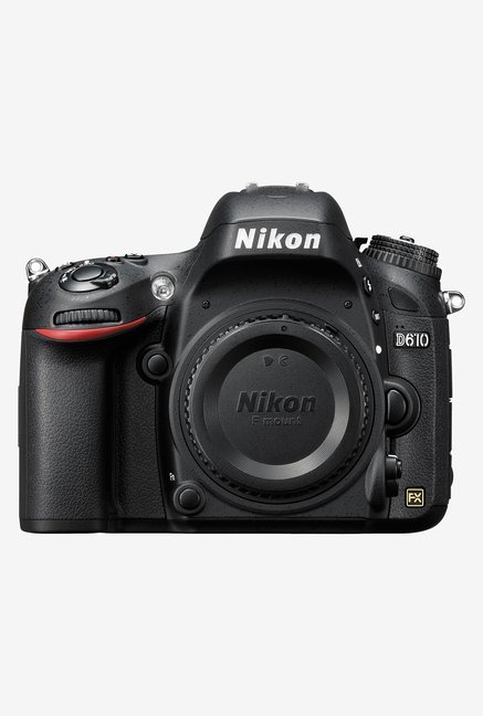 Nikon D610 DSLR Camera Black (Body Only)