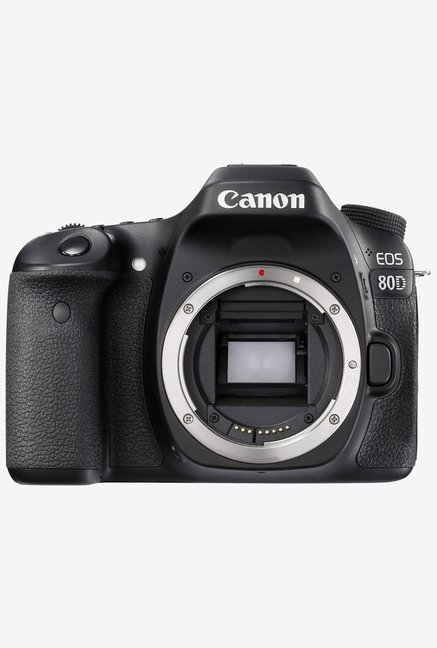 Canon EOS 80D  Body Only  DSLR Camera with 16 GB Card  Black