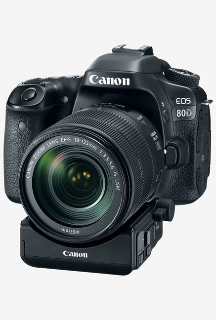Canon EOS 80D with (EF-S18-135 IS USM Lens) DSLR Camera