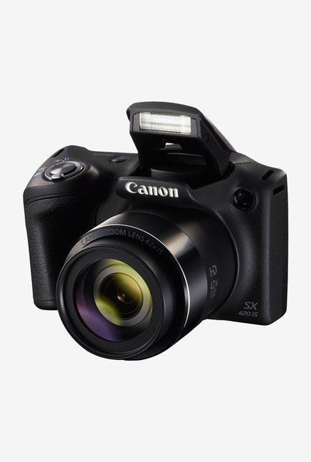 Canon PowerShot SX420 IS Point and Shoot Camera Black