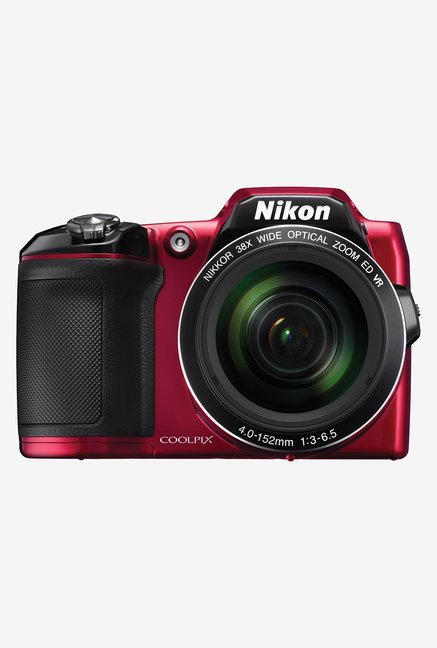 Nikon Coolpix L840 Point & Shoot Camera Red