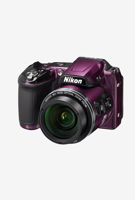 Nikon Coolpix L840 Point & Shoot Camera Plum