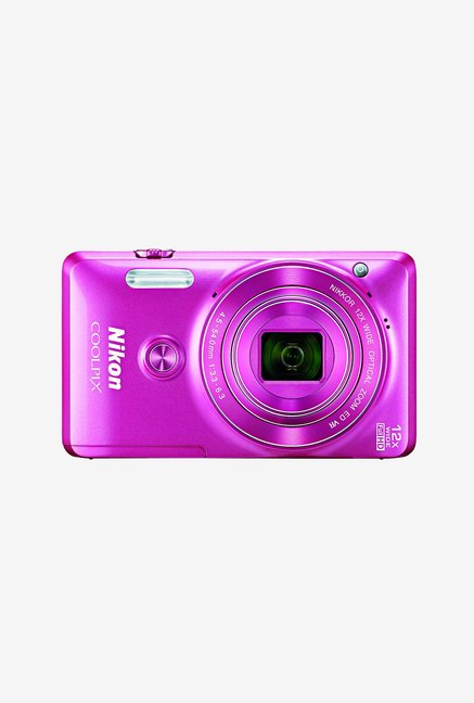 Nikon Coolpix S6900 Point & Shoot Camera Pink