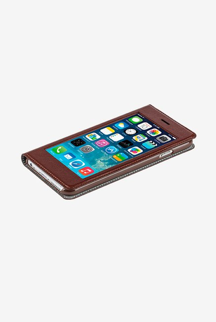 X-fitted Privacy Protector P6sS(B) iPhone 6/6s Case Brown