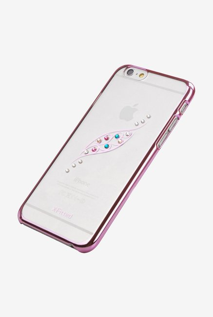 X-fitted Graceful Leaf P6JY(P) iPhone 6/6s Case Pink