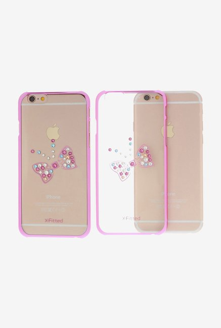 X-fitted Royal Butterfly P6HD(P) iPhone 6/6s Case Pink