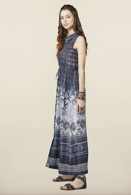 Global Desi Black Maxi Dress