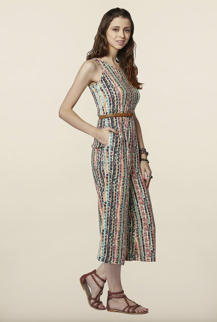Global Desi Multicolor Printed Jumpsuit