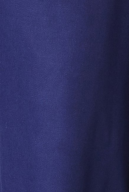 Global Desi Ink Blue Solid Palazzo