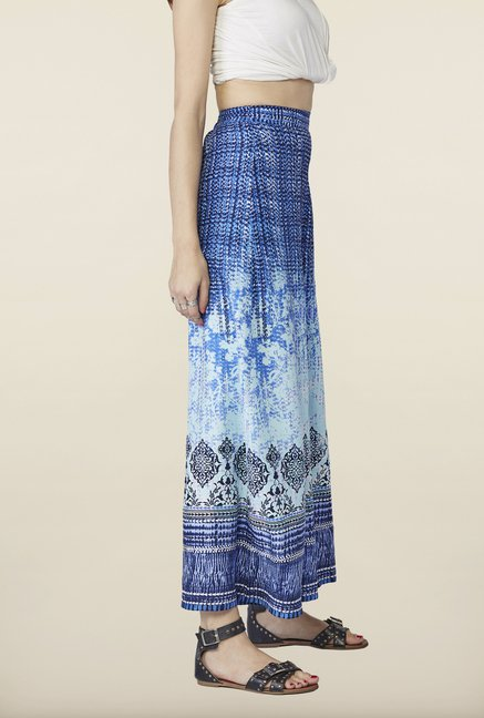 Global Desi Blue Ombre Palazzo