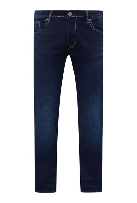 Easies Blue Lightly Washed Jeans