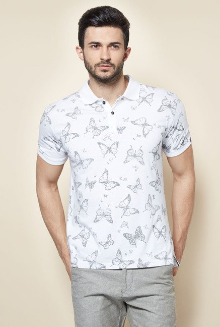 Easies White Polo T-Shirt