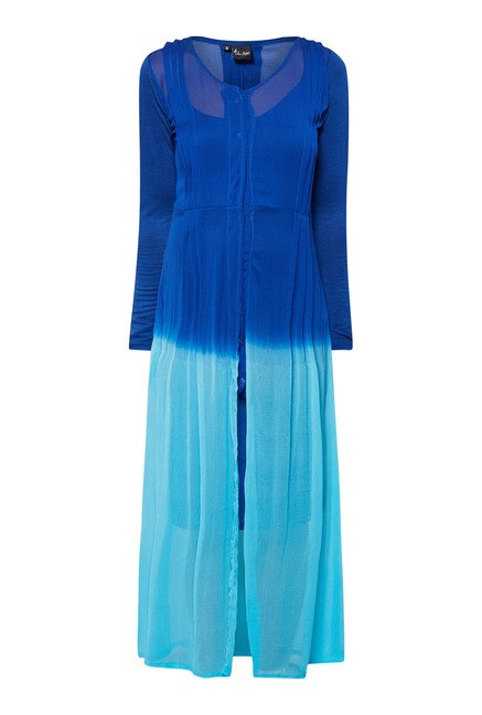 Ira Soleil Blue A Line Dress