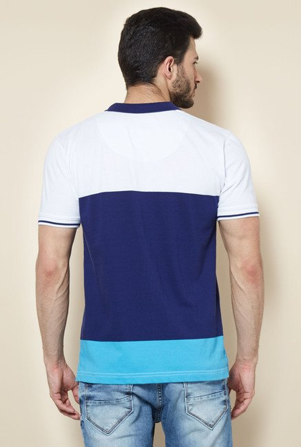 Easies Multicolored Casual Polo T-Shirt