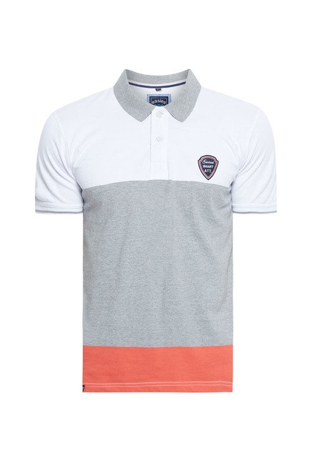 Easies Multicolored Solid Polo T-Shirt