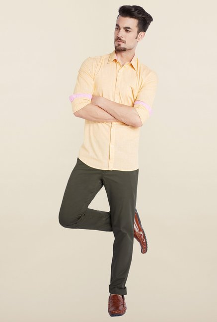 Parx Olive Chinos