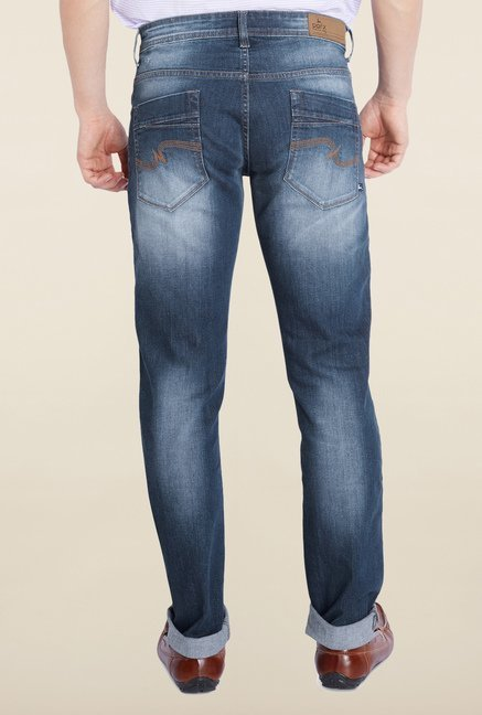 Parx Blue Tattered Jeans
