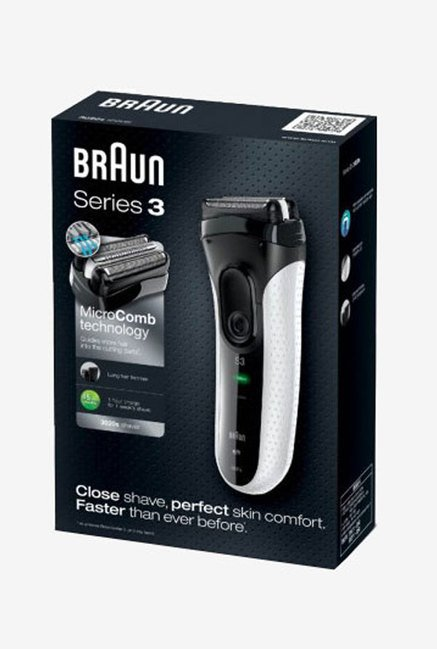 Braun Series 3 3020 Electric Foil Shaver Black